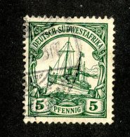 (1532)  S.W.A. 1906  Mi.25 (o)  Catalogue  € 1.70 - Colony: German South West Africa