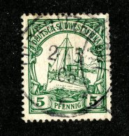 (1534)  S.W.A. 1901  Mi.12  (o)  Catalogue  € 2.00 - Colony: German South West Africa