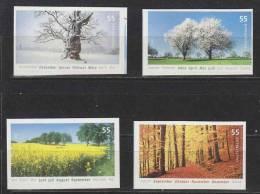 Bund  Mi.Nr. 2574-77 **  Postfrisch  Selbstklebend - Unused Stamps
