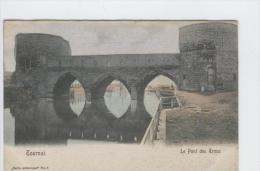 CP Tournai Le Pont Des Trous. Série Artistique N° 8. Vers 1905. Colorisé - Tournai