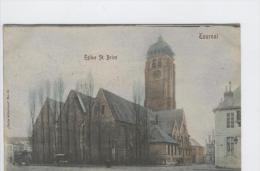 CP Tournai Eglise Saint Brice. Série Artistique N° 16. Vers 1905. Colorisé - Tournai