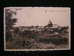 B-30 /  Bastogne. Église Et Porte De Trèves / Circulé Non  .- - Bertogne