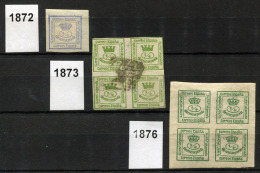 SPAIN Newspaper Stamps 1872-76 - Spagna