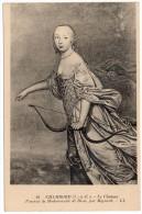 CP, Portrait De Mademoiselle De Blois Par Mignard, Château De CHAMBORD, Vierge - Peintures & Tableaux