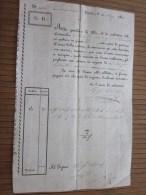 RARE 1828 Lettera Di Vettura + Fiscale G.D. Negoziante In Torino Italie Italia >G. Bresso - Brés > Nizza Nice France - Italia