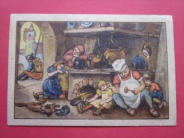KOLLNFLOCKEN SIND VOLLKORNFLOCKEN GRIMMS MARCHEN  Bild 17 Série Allemande > Contes De Grimm Allemagne Chromo Image - Schokolade
