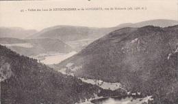CPA:Vallée Des Lacs De RETOURNEMER Et De LONGEMER Vue Du HOHNECK - Xonrupt Longemer