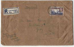 Einschreiben Aus Kotahena 1938 - Sri Lanka (Ceylon) (1948-...)