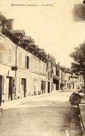 MONTBAZENS - Grand'rue - Cafe TREBOSC ; Hotel BRAS - Montbazens