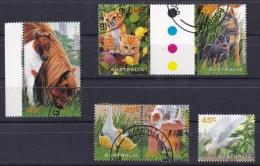 Australia 1996 Pets Set Of 6 CTO - 1990-99 Elizabeth II