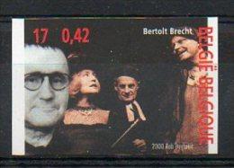Belgique 2000 2955 Non Dentelé ** Tirage 1100 - Bertolt Brecht - Théâtre - Ongetande