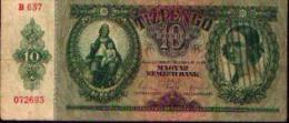 HONGRIE 10 Pengö 1936 - Hongrie