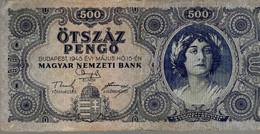HONGRIE 500 Pengö 1945 - Hongrie