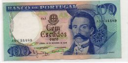 PORTUGAL : 100 Escudos 1965 (aunc) - Portugal