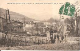 ST-PIERRE-DE-BOEUF (42) Panorama Du Quartier De La Gare - Other Municipalities