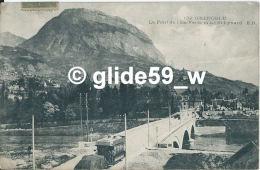 GRENOBLE - Le Pont De L'Ile-Verte Et Le St-Eynard (animée) - N° 132 - Grenoble