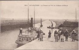 """Ile D´Oléron  """" Le Chenal Du Port Du Château """" Très Belle Animation ! - Ile D'Oléron"""