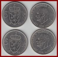NORWEGEN 5 KRONER 1963 - 64 - Norwegen