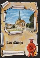 10 - Les Riceys - L'Église - 2 Scans - - Les Riceys