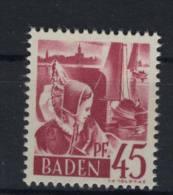 Baden Michel No. 9 y w ** postfrisch