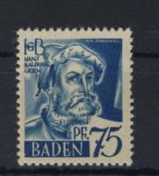 Baden Michel No. 11 v w ** postfrisch