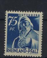Rheinland Pfalz Michel No. 13 v w ** postfrisch
