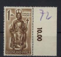 Rheinland Pfalz Michel No. 15 y w ** postfrisch