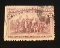US 1893 Columbian Exposition  Short Set Of 2 As Scan SC# 231 /P44 - Oblitérés
