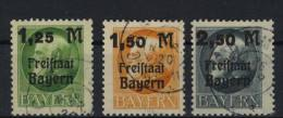 Bayern Michel No. 174 - 176 gestempelt used