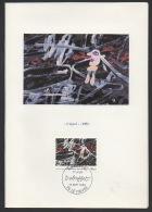 """DF / ART / FRANCE / ENCART 1ER JOUR DU TP 2381 TABLEAU """" L' ÉGARÉ """" DU PEINTRE DUBUFFET - Non Classés"""