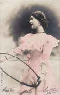 """ CAVALIERI ET SON CERCEAU "" ARTISTE DE THEATRE DANSEUSE ACTRICE REUTLINGER 1900 - Theatre"