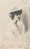 MARVILLE ARTISTE DE THEATRE DANSEUSE ACTRICE SPECTACLE 1900 - Theater