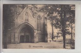 B 8620 NIEUWPOORT, Portal Kerk, Deutsche Feldpost, 1916 - Nieuwpoort