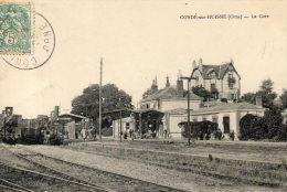 CONDE SUR HUISNE  La Gare - France