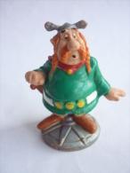 FIGURINE ASTERIX BULLY 1990 ABRARACOURSIX (1) - Asterix & Obelix