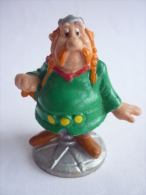 FIGURINE ASTERIX BULLY 1990 ABRARACOURSIX TBE Défectueux - Asterix & Obelix