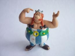 FIGURINE ASTERIX COMIC SPAIN 1984 OBELIX TBE - Asterix & Obelix