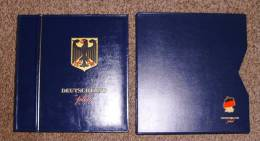 Deutschland Plus Vordruckblätter Bund 2000 - 2009 In 5 Ringbindern + Schutzkassetten - Alben & Binder