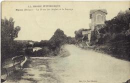 (26)  NYONS  La Route Des Anglais- TBE  écrite 1922  - (2 Scanns) - Nyons