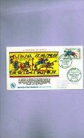 13110   La Tapisserie De La Reine Mathilde  Bayeux - FDC