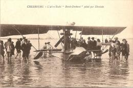 """CHERBOURG  -  L ´ Aéro - Yacht """" Borel - Denhaut """" Piloté Par Divetain (Aviation) - Cherbourg"""