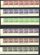 (3023) Rhodesia 1966, Postage Due , Imprint Strips Of  7 - Rhodesia (1964-1980)
