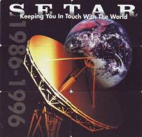 ARUBA Satellite Disc Puzzle 6 TELECARTES Phonecards SETAR 1996 - Puzzles