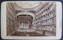 Photograph G. Sommer Fotografo, Napoli - CDV C1870 Teatro S. Carlo (Napoli) - Photos