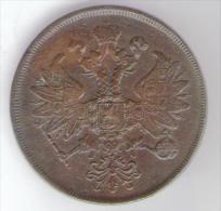 RUSSIA 2 KOPEKS 1862 ALEXANDER II - Russia