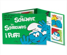 Switzerland 2013 - The Smurfs Stamp Booklet Mnh - Fumetti