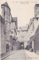 Cp , 50 , LE MONT-SAINT-MICHEL , Porte Du Roi - Le Mont Saint Michel