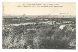 Saint-Laurent-sur-l'Oust  (56) : Vue Sur La Propriété Dite Du Manoir De Chatelier En 1907. - Francia