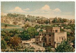 CAMPOFRANCO (CL) PANORAMA E COLLEGIO SAN DOMENICO 1960 - Caltanissetta