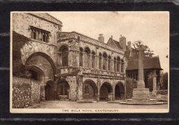 40918    Regno  Unito,    The  Aula  Nova  -  Canterbury,  VG  1934 - Canterbury
